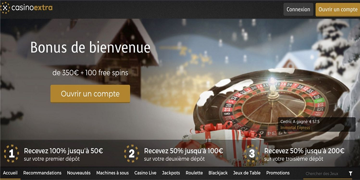 How to play Slots at casinoextra.fr